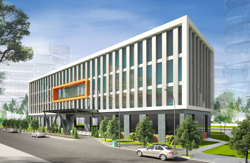 Thiết kế Bệnh viện đẹp TP Vinh Nghệ An