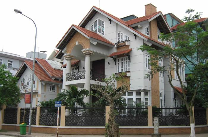 Thiết kế biệt thự, nhà cổ điển tại Vinh Nghệ An
