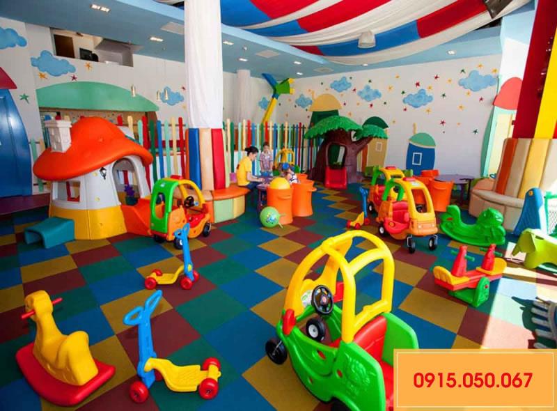 Thiết kế thi công khu vui chơi trẻ em tại TP Vinh Nghệ An