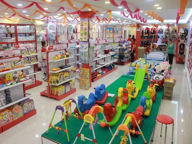 Thiết kế Cửa hàng shop showroom mẹ và bé TP Vinh Nghệ An