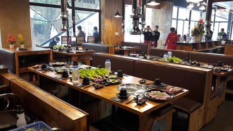 Nhà hàng Hàn Quốc Mr Kim TP Vinh Nghệ An