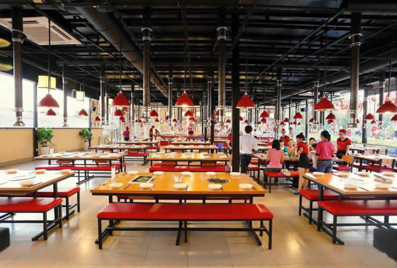 Thiết kế nhà hàng lẩu nướng BBQ không khói tại TP Vinh Nghệ An