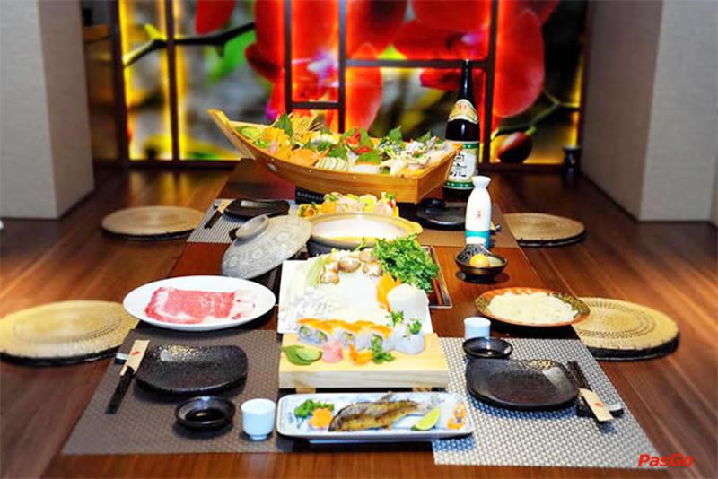Thiết kế nhà hàng Hàn Quốc Nhật Bản tại TP Vinh Nghệ An