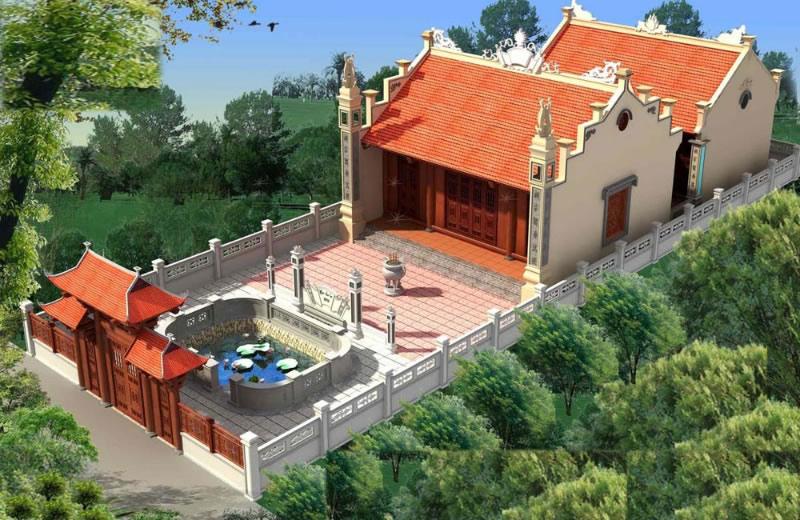 Thiết kế thi công Nhà thờ tại TP Vinh Nghệ An