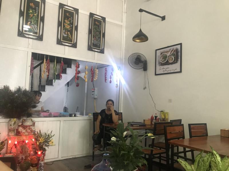 Thiết kế thi công quán Phở Cuội TP Vinh Nghệ An