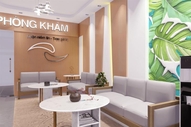 Thiết kế thi công nội thất phòng khám nha khoa TP Vinh Nghệ An