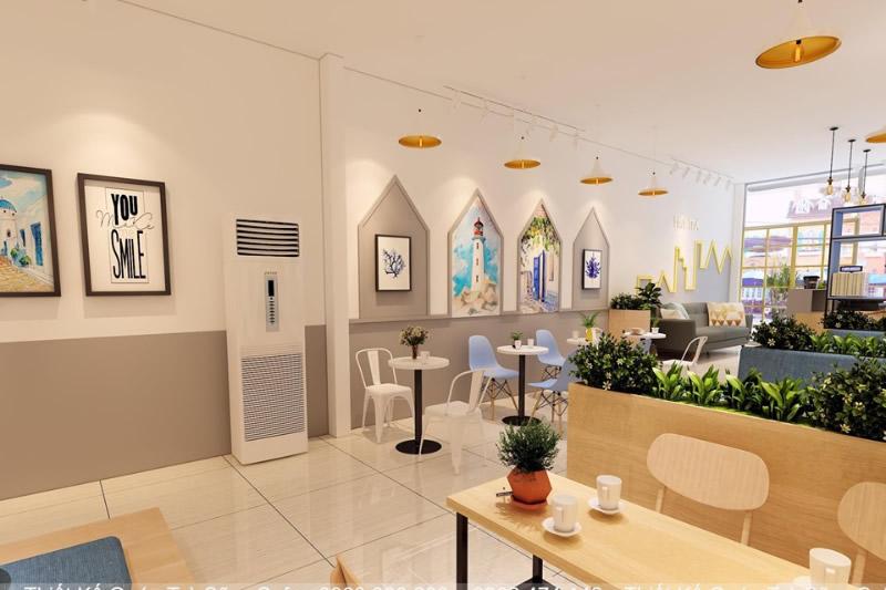 Thiết kế thi công quán trà sữa tại Hà Tĩnh