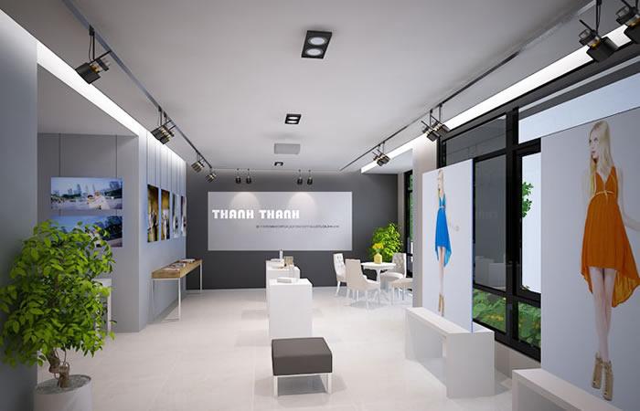 Thiết kế Showroom đẹp tại VInh Nghệ An