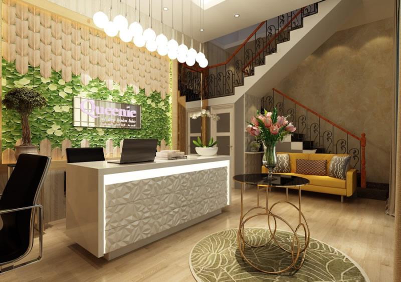 Thiết kế thi công nội thất spa thẩm mỹ viện massage TP Vinh Nghệ An