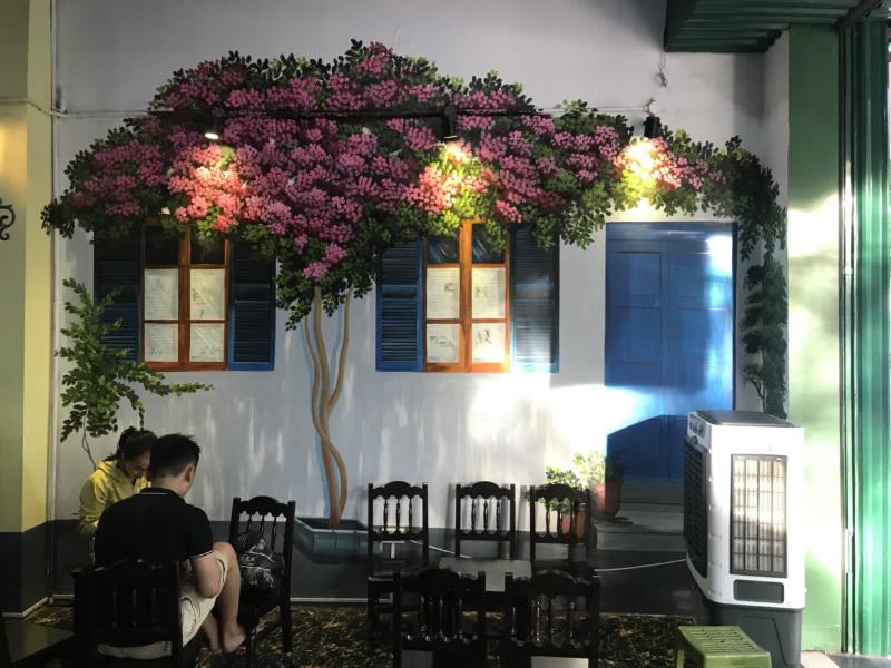 Thiết kế quán trà chanh đá tại TP Vinh Nghệ An