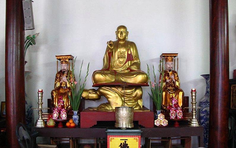 Điêu khắc đắp đúc tượng Phật giáo TP Vinh Nghệ An